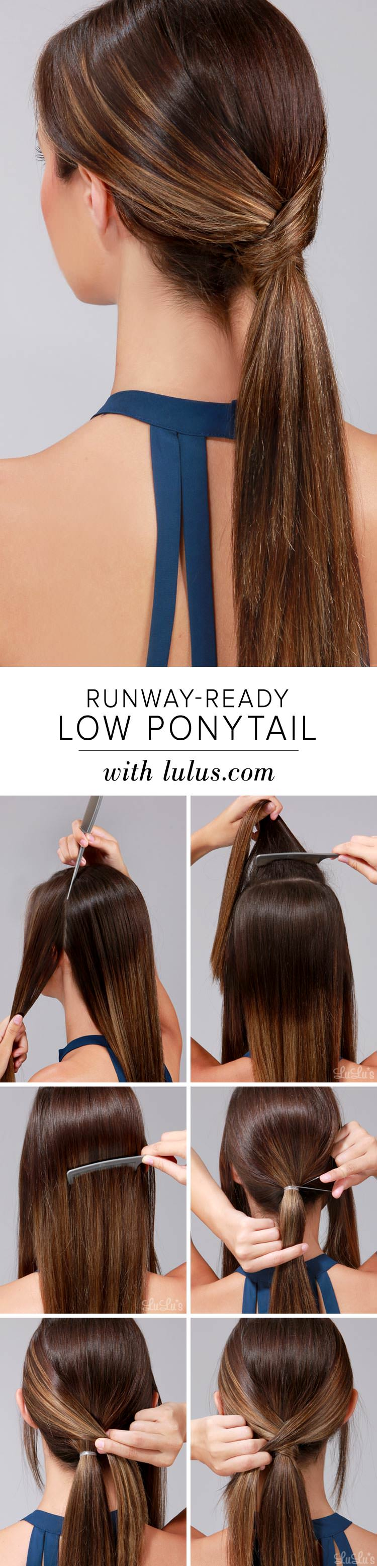 Runway-Ready-Low-Ponytail